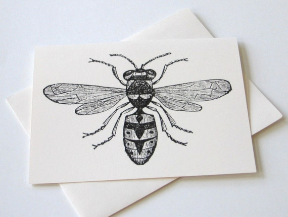 Bee Note Cards - Set of 10