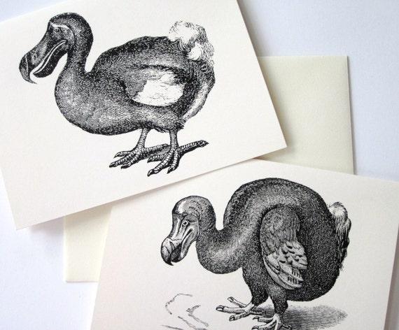 Dodo Bird Note Card Set of 10