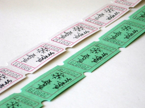 Winter Wishes Carnival Tickets