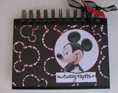 Mickey Autograph Book - 80 pages