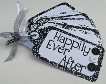 Wedding Wishes Tag Book