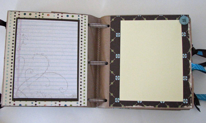Pregnancy scrapbook ideas journaling -  45 00