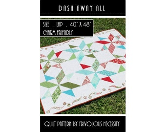 Quilt Pattern PDF Dash Away All -- Charm Friendly