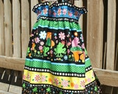 Summer Flip-It Dress (Reversible Sun Dress)  Size three Girl. SALE SALE SALE reg 19.99