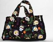Quilted Calavera Handbag