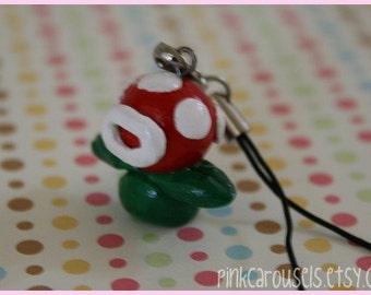Mario Piranha Plant Charm