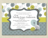 Floral Bridal Shower Invitations | Baby Shower Invitation | Wedding Shower | Bridesmaids Brunch Invites | Ladies Luncheon | Engagement Party