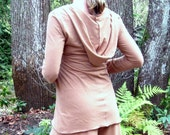 Hoodie Jersey Tunic Top by ModernEraDesign - indie fashion made-to-measure