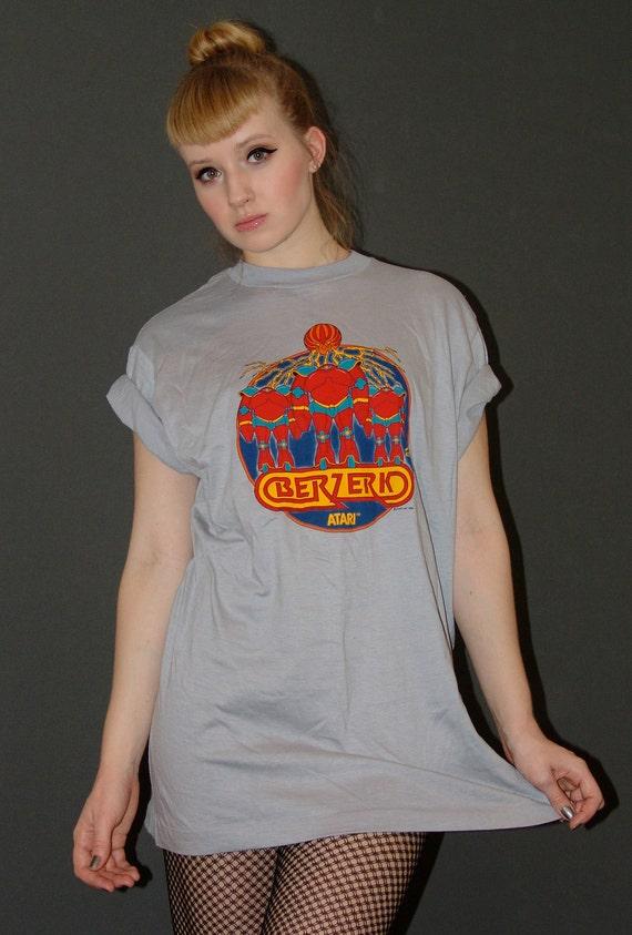 Vintage 1980s Atari Berzerk t-shirt
