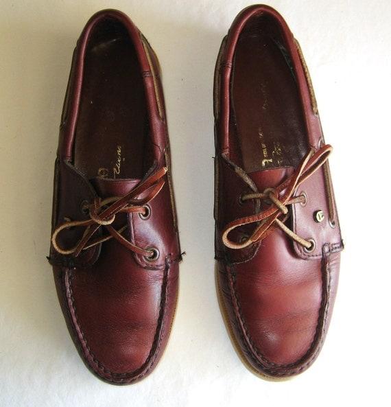 Vintage Etienne Aigner boat shoes Size 6 M