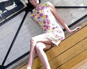 """Vintage Inspired 1960s Dress by Tracy McElfresh """"Stop the Train"""""""