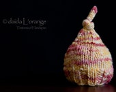 OOAK Original Newborn Sagey Hat - Crème Brulee - Summer Collection