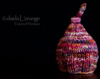 OOAK Original Newborn Sagey Hat - October in New England - Autumn Collection