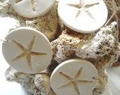 Beach Wedding Starfish Decorations Favor Gift Tags Wine Charms Set of 8 Hang Tags Wedding Favors Tag Beach Theme Wedding