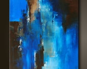 """Passage - 30"""" x 24"""" - Abstract Acrylic Painting on Canvas - Original Fine Art - Contemporary Style"""