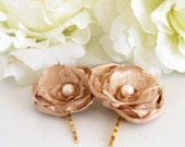 1 pair of Bronze Bloom
