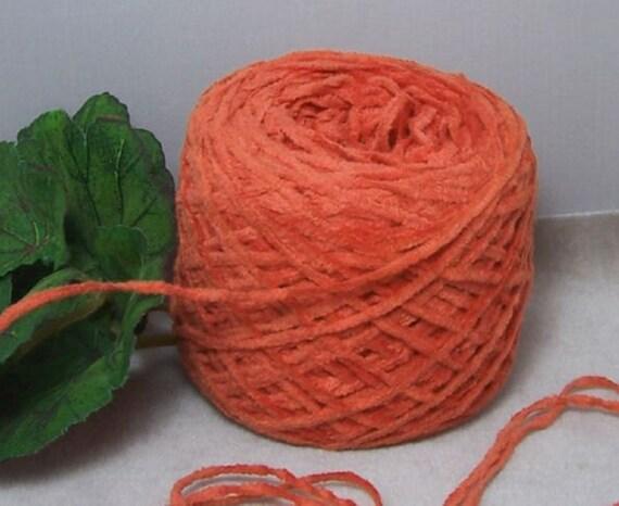 Tangerine Zippy Orange WOW Soft Acrylic Chenille B20