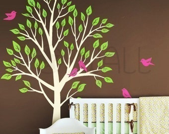 Wall Decals Wall Sticker Tree Decal -Tree wall decal- 056