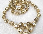 Swarovski Golden Shadow V Necklace