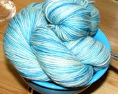 Sock Yarn - 'Gelato' Blue Moon