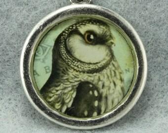 SALE! 40% off 16.00 Charm Owl Pendant DIY