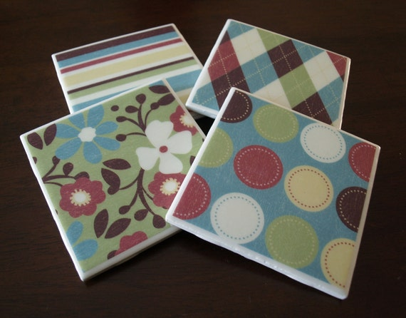 Tile Coasters - A Plethora of Patterns