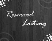 Reserved Listing for Artieno Fashion Gallery