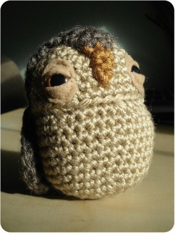 Amigurumi Gingerbread Man Free Pattern : PATTERN Crochet Oswald Owl Amigurumi PDF