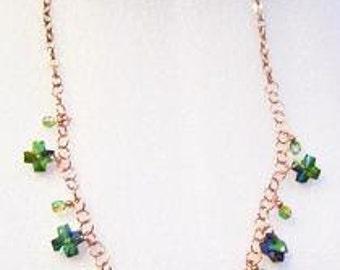 Emerald Isle Copper Necklace