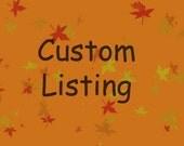 Reserved Listing for cassandramello