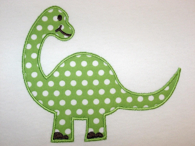 014 Dinosaur Machine Embroidery Applique Design
