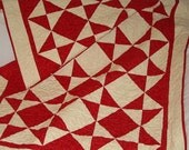 PDF Copy - Easy Charm Pattern - Triangles Galore Lap QUILT PATTERN