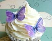 Edible Butterflies - 20 small lavender