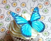 Edible Butterflies - Bright Blue Monarch