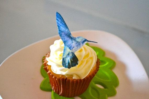 Wedding Cake Topper The Original EDIBLE Hummingbirds Cake