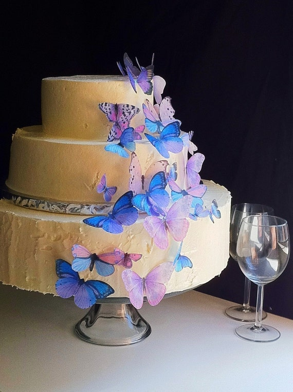 Wedding Cake Topper The Original EDIBLE BUTTERFLIES Assorted