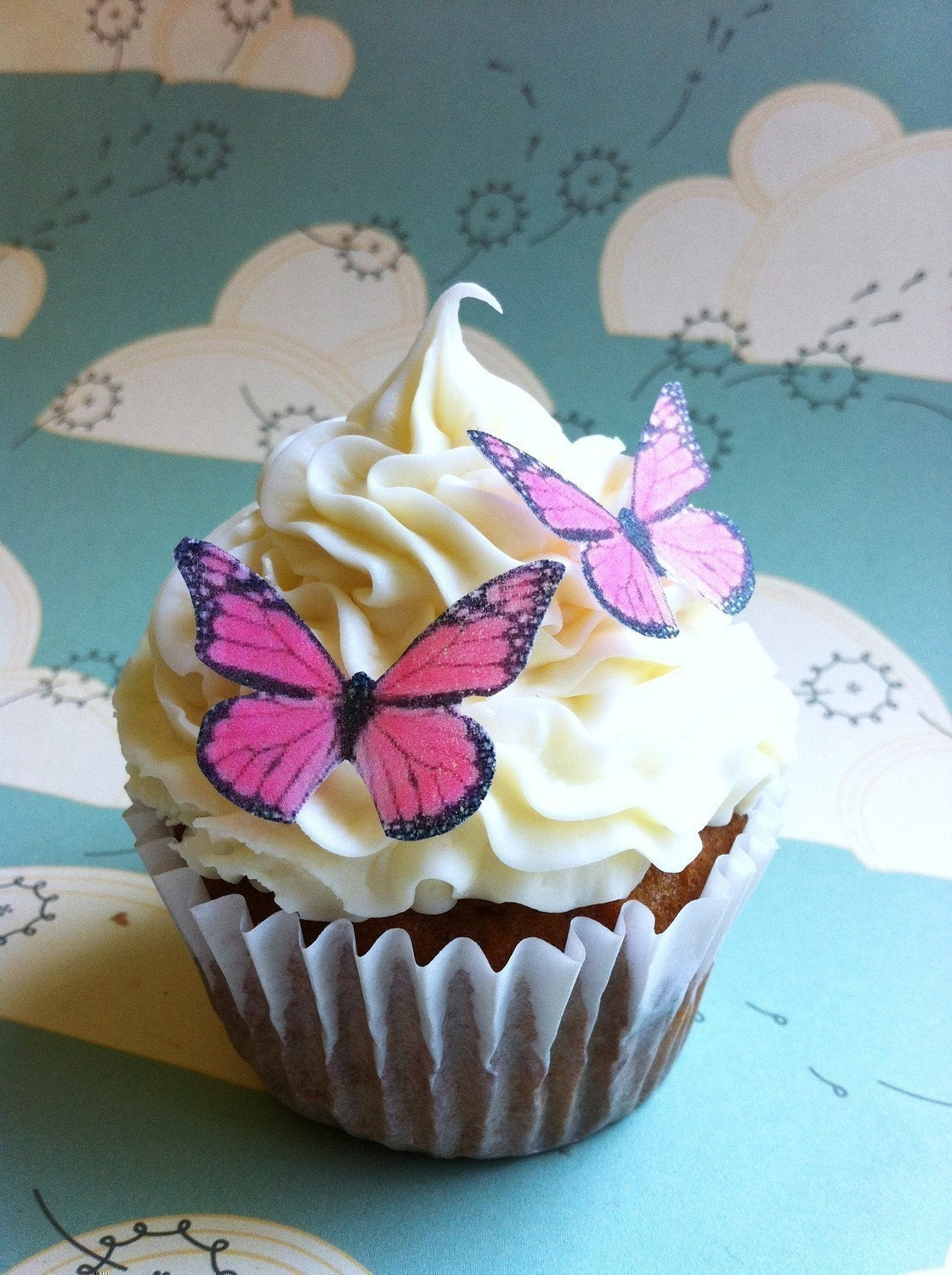 butterfly cake decorations the original edible butterflies small pink monarch 2163