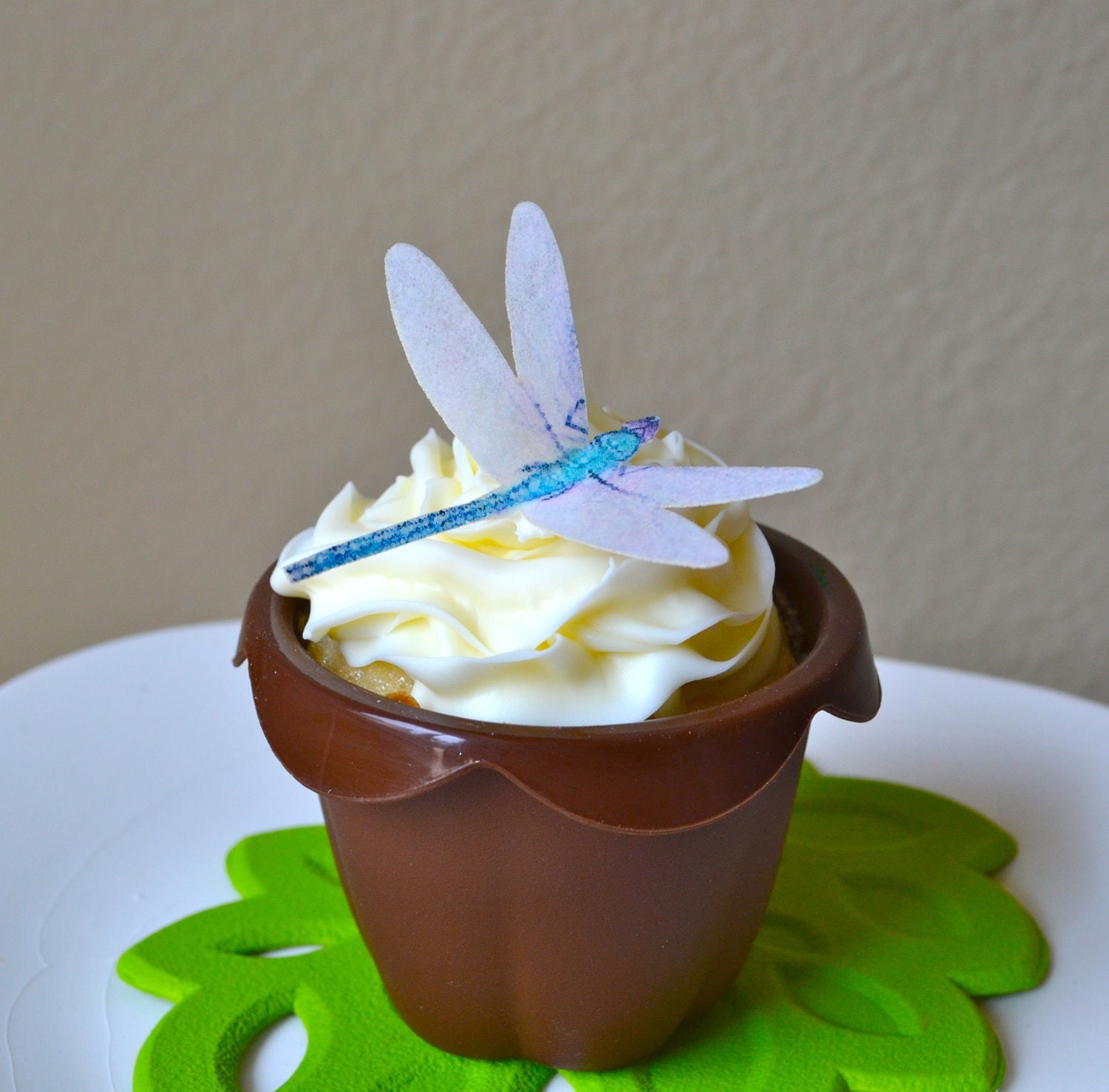 Dragonfly Cupcakes Cake