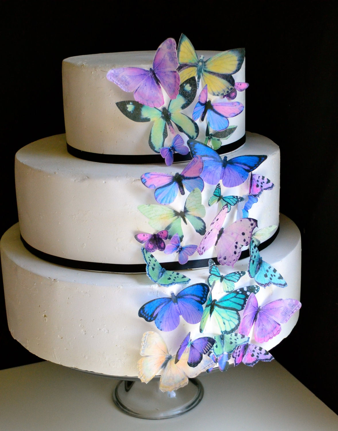 Wedding Cake Topper The Original EDIBLE BUTTERFLIES