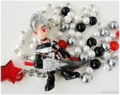 Final Fantasy X-2, Jewelry Set, Paine Figure, Rosary Necklace and Earrings, Gamer Girl, Kawaii featured image