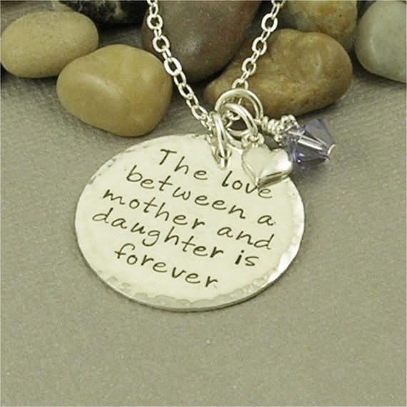 Items Similar To Mother Amp Daughter Necklace Hand Stamped