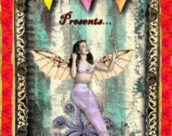 The Amazing Flying Mermaid Perfume Oil .33 fl oz