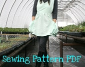 Utility Smock Sewing Pattern - PDF
