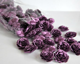 12 pc Satin  Roses Pin Brooch Hat Hair Accessory Baby Girls Bow Headband Quilting