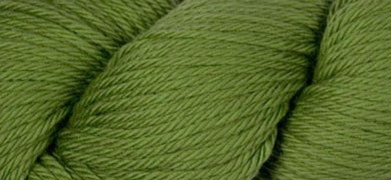 Merino yarn - Louet Gems yarn, fern green, clearance