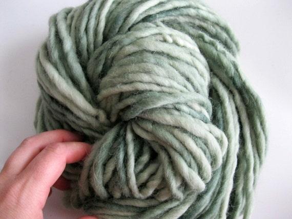 Knitting Handspun Wool : Bulky handspun knitting doll hair yarn wool waldorf
