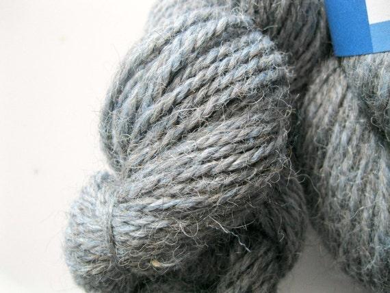 Alpaca merino yarn Eastport DK weight french blue, clearance, free shipping