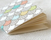 SALE 50% Off - Jotter, Pocket Notebook, Mini Journal - Dragon Scales