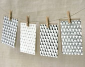 Note Card Set - Triangles are a Girl's Best Friend