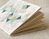 Jotter, Pocket Notebook, Mini Journal - Love Triangles